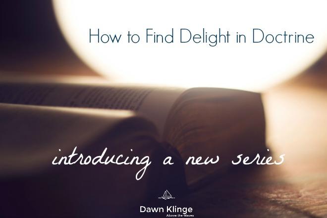 Facebook, delight in doctrine, intro