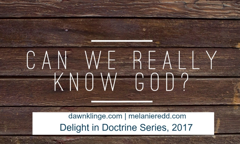 Can We Really KNOW God?   how to know God   Christian doctrine   what Christians believe   Above the Waves    #doctrine #knowinggod