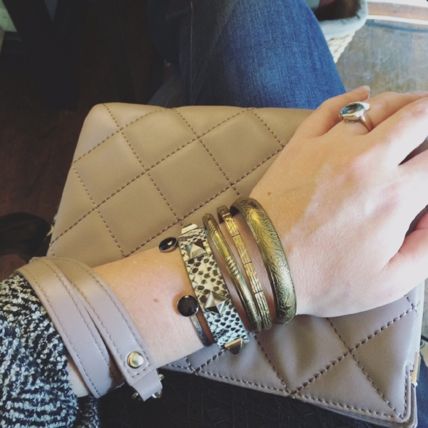 Say it with sand inlet cuff