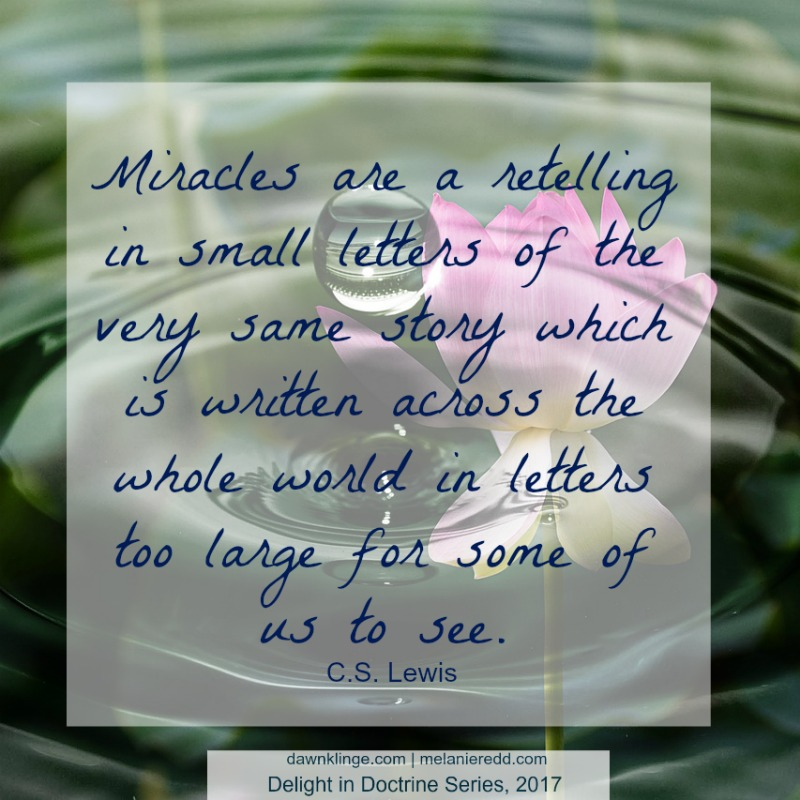C.S. Lewis, Miracles