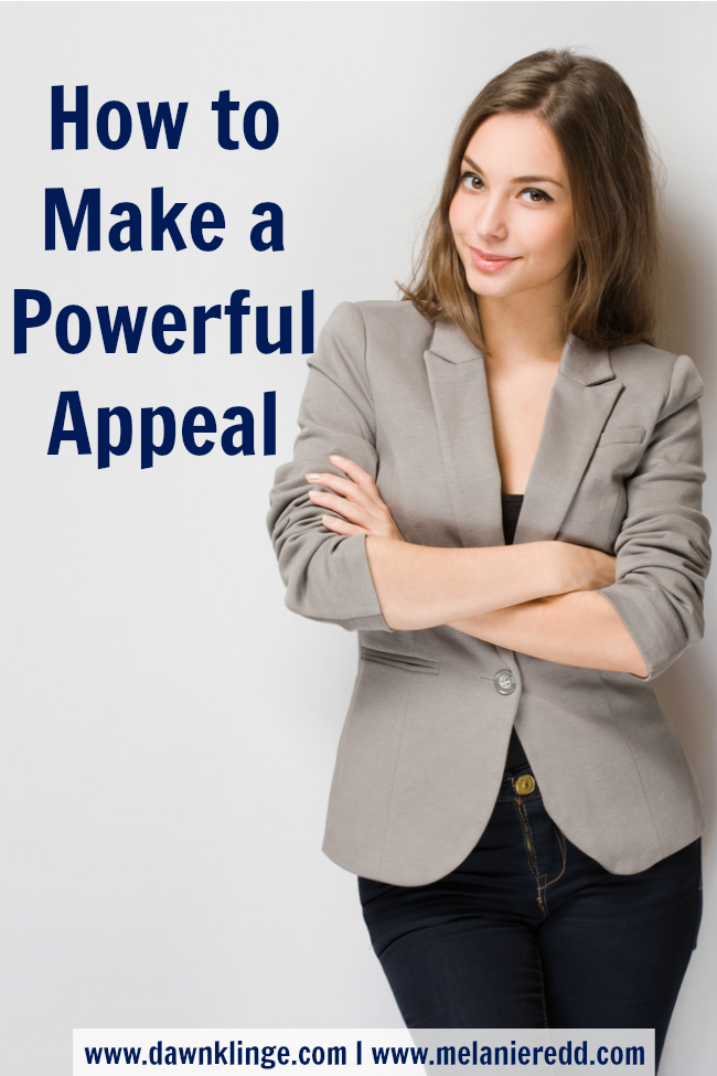 how to make a powerful appeal