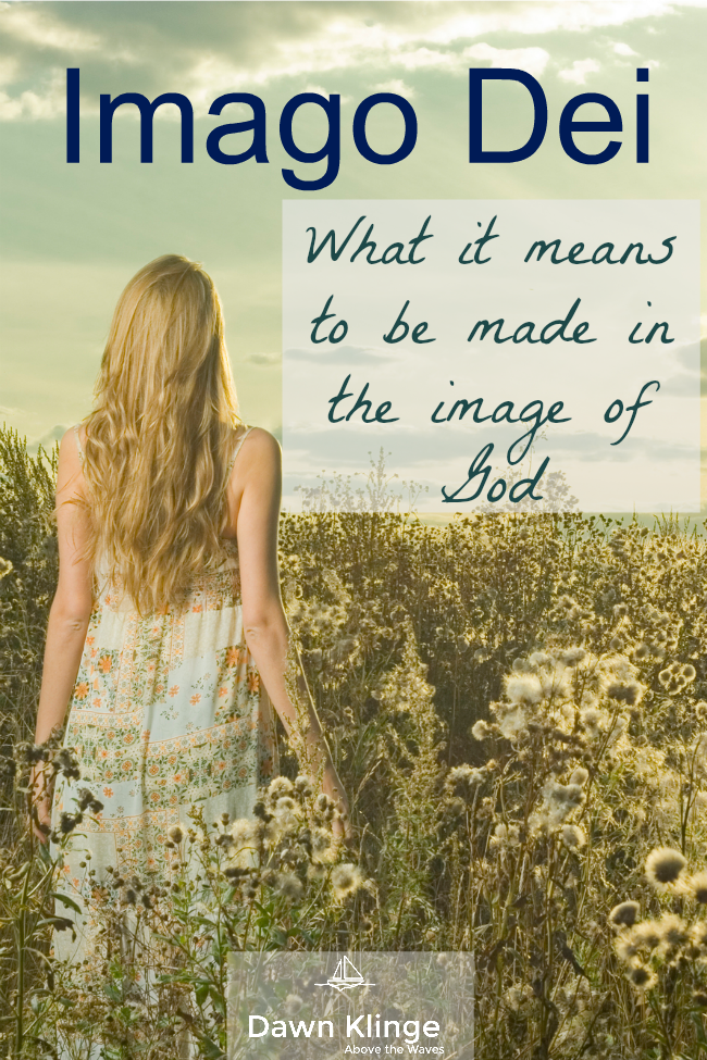 Made in the image of God I Imago Dei I made in the image of God I dignity and worth of all people I what it means to be made in the image of God I Above the Waves II #christianblogger #imageofgod