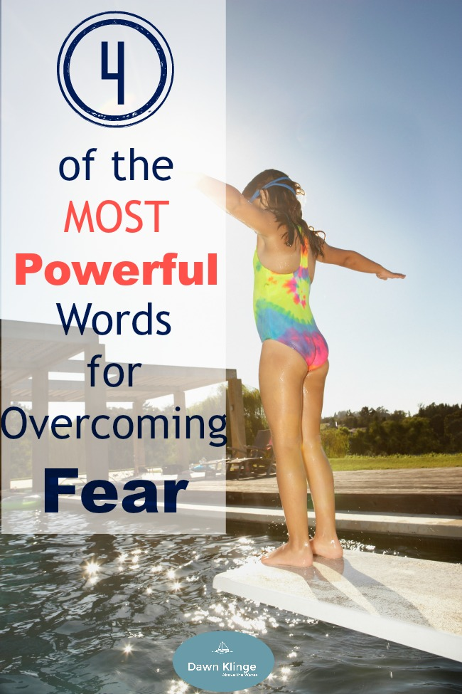 powerful words to overcome fear