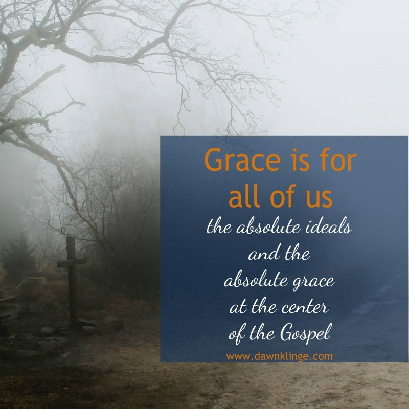 God's grace is for all of us