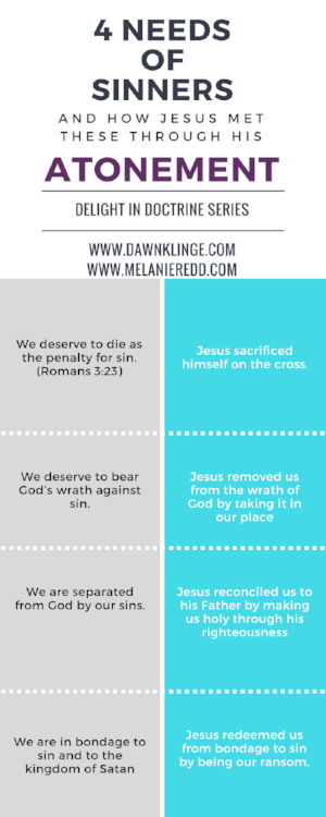 4 needs of sinners and how Jesus met them