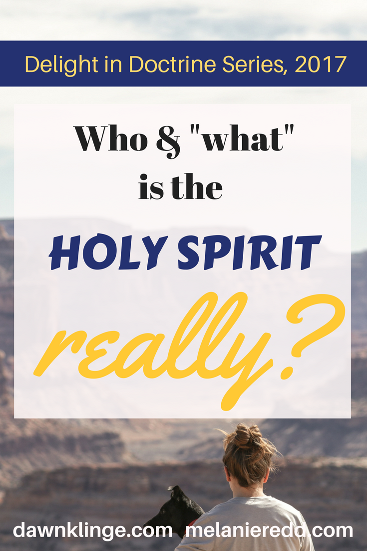 Who and What is the Holy Spirit