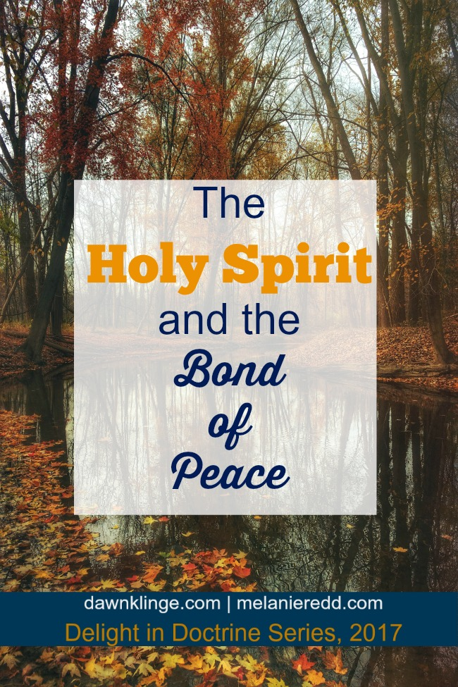 the Holy Spirit and the Bond of Peace I how the holy spirit brings peace I Christian doctrine I how to find peace I theology II Above the Waves #holyspirit #christiantheology