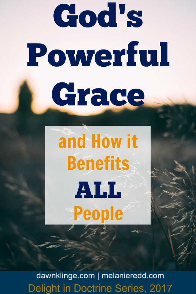 God's Powerful Grace and how it benefits all people | what God's grace means | Christian doctrine | common grace | Above the Waves || #doctrine #grace
