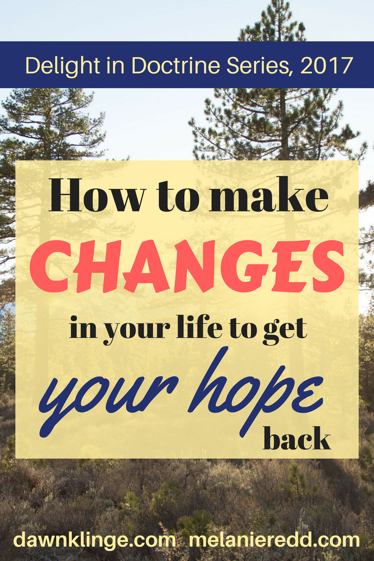 How to make changes in your life to get your HOPE back I get your hope back I hope that is found in Christinity I hope in Christ I systematic theology I Above the Waves I #systematictheology #hopeinChrist #Christianhope