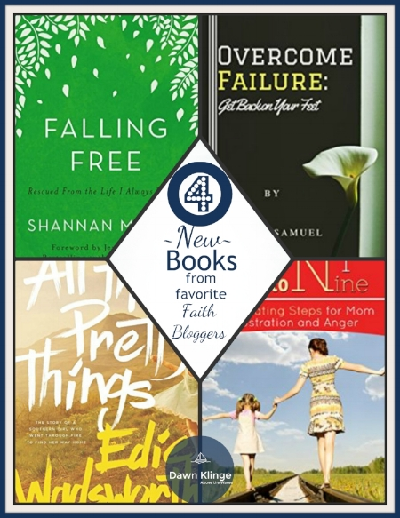 4 new books from favorite faith bloggers