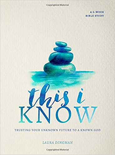 This I Know: Trusting Your Unknown Future to a Known God I book review I bible study review I faith book I trusting God I Above the Waves II #biblestudy #bookreview