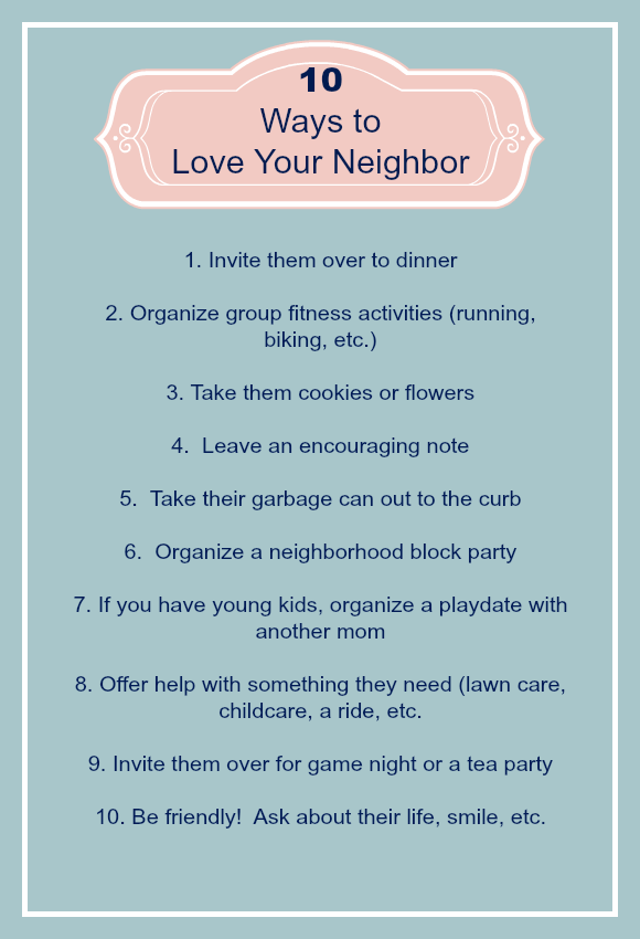 Christian hospitality: 10 ways to love your neighbor | how to make friends | how to show love for people | Christian love for others | Above the Waves | #hospitality #christianliving