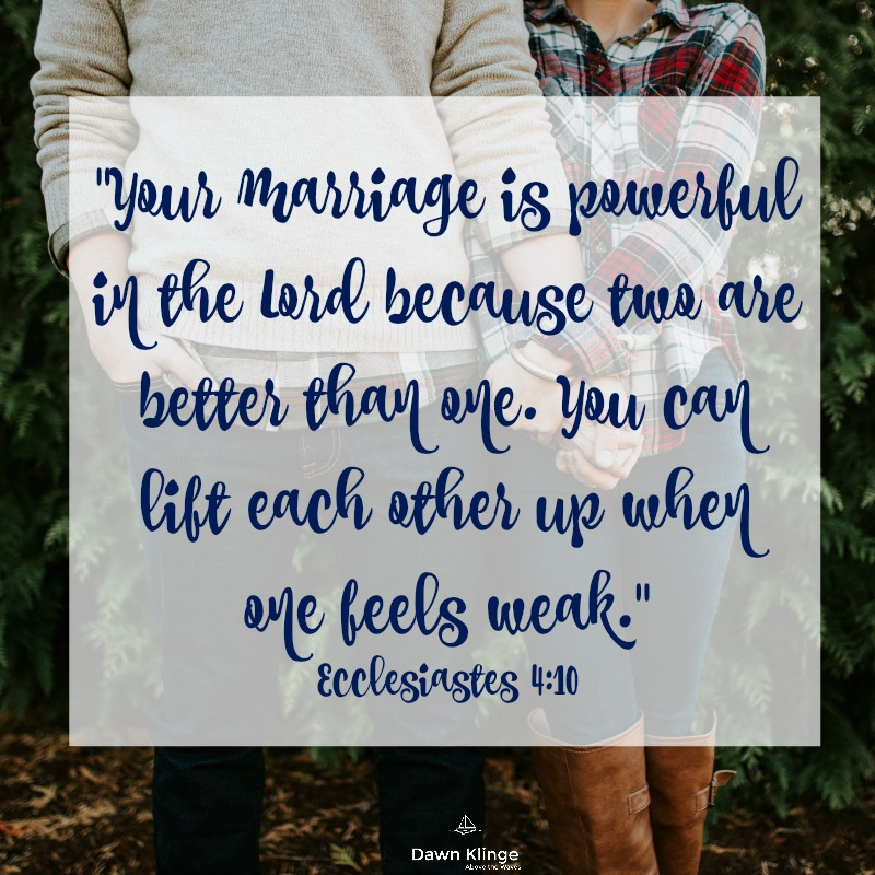 How Prayer Can Help Your Marriage — Dawn Klinge