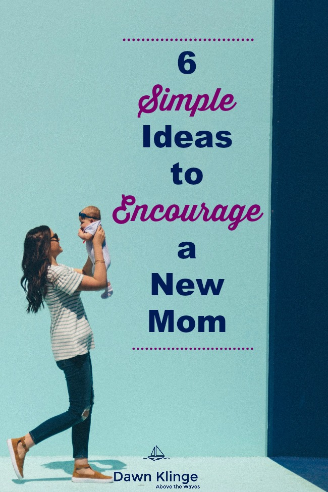 6 simple ideas to encourage a new mom | nautical baby shower invites | shower invites baby || #babyshower #newmom