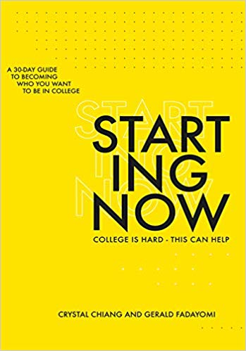 Starting Now is meant to begin on the very first day of college, and contains six weeks of devotions on the topics of community, identity, faith, integrity, freedom, and service.    devotional for college student   Above the Waves    #devotional #collegedevotional #devotionalreview