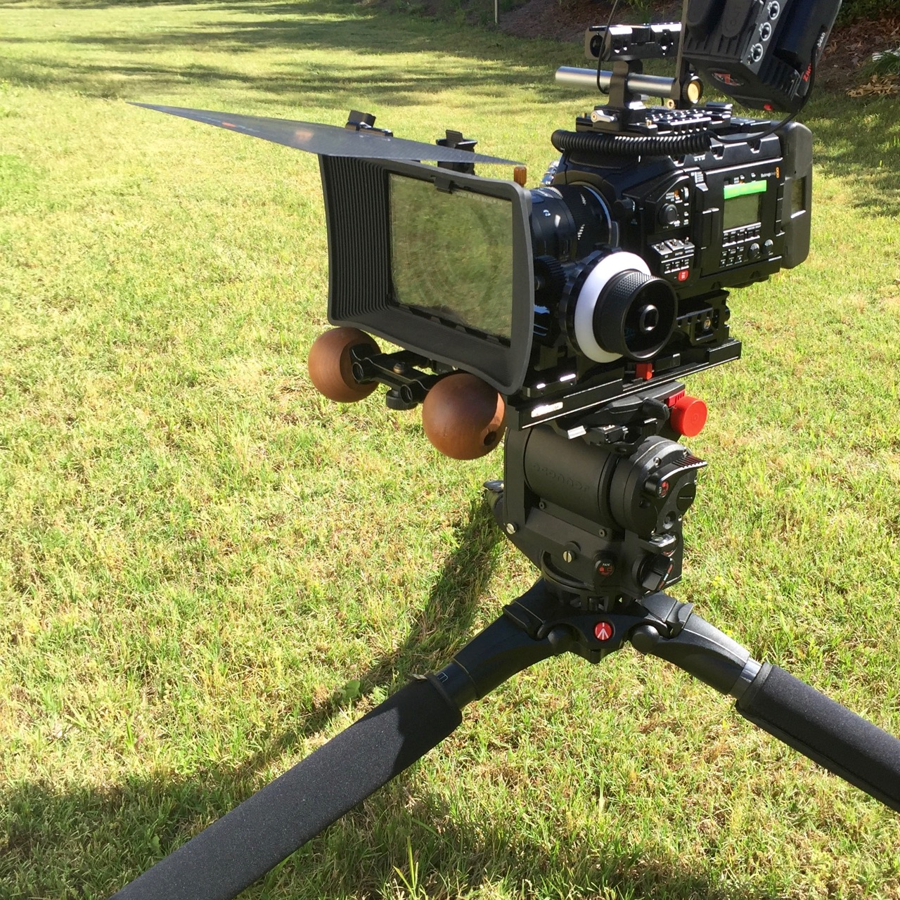 O'Connor 1030D and Manfrotto 536 - a match made in heaven.