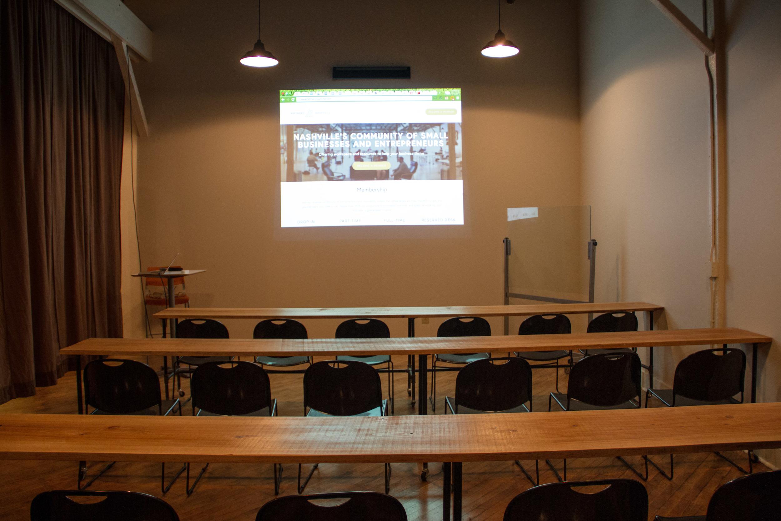 Classroom Space (seats 30+)