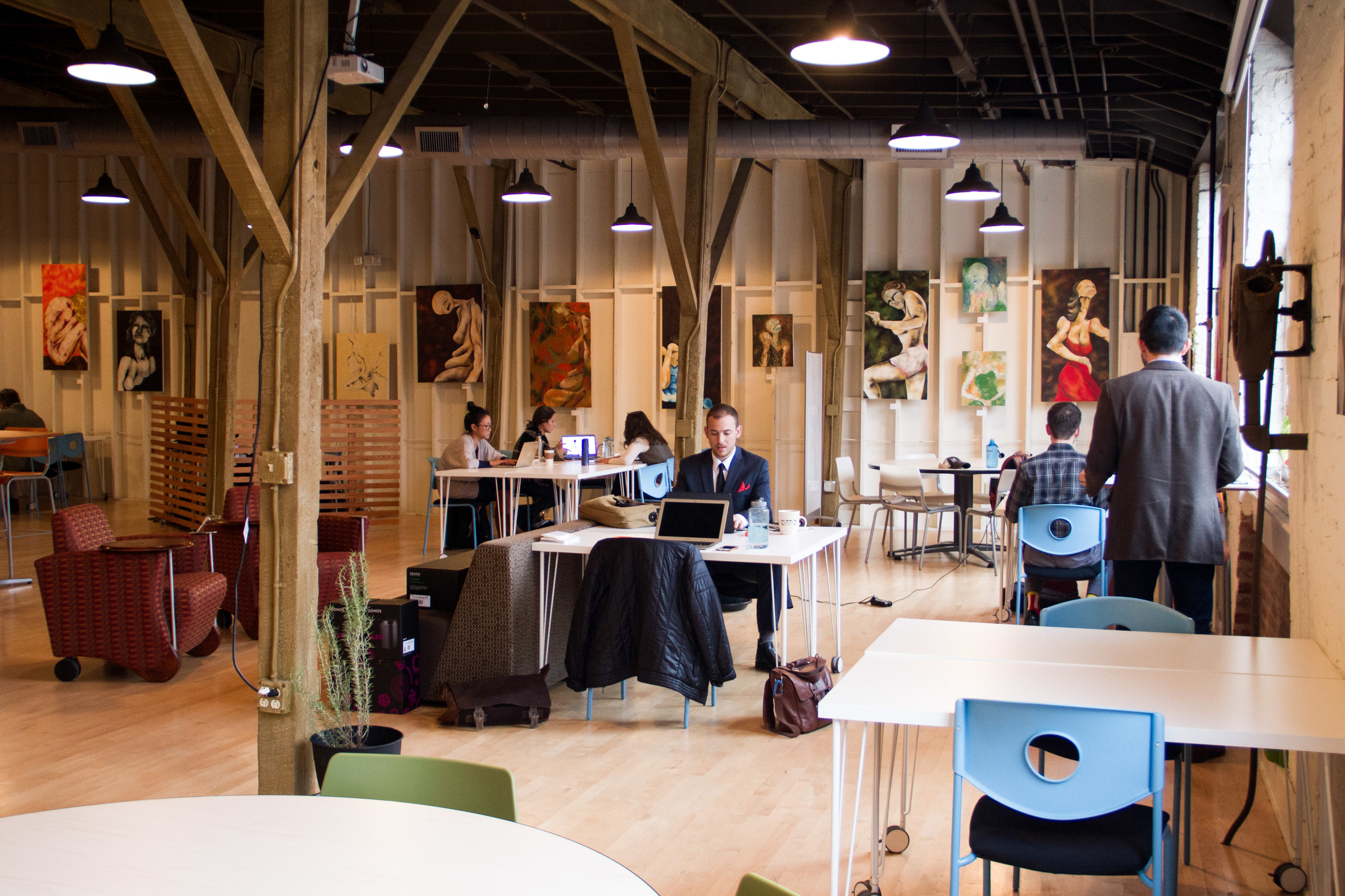Main Co-working Space (seats 50+)