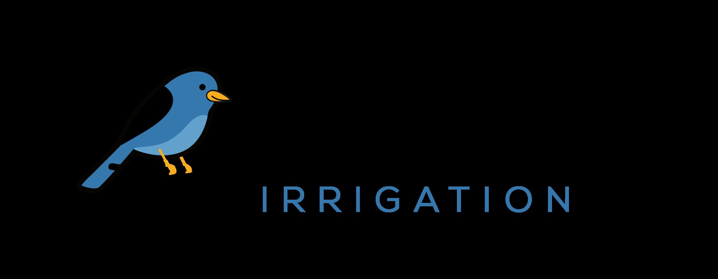 Bluebird horizontal logo for webpage and their work trucks