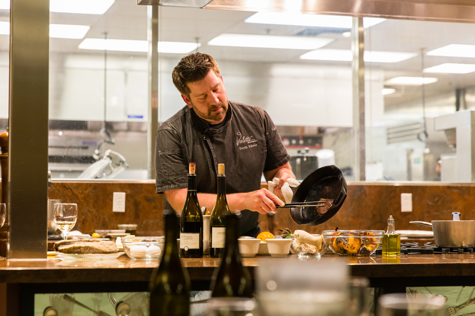 Chef Dustin Valette, Cooking at Homeward Bound; Photo by Neely Wang @neelywang.jpg