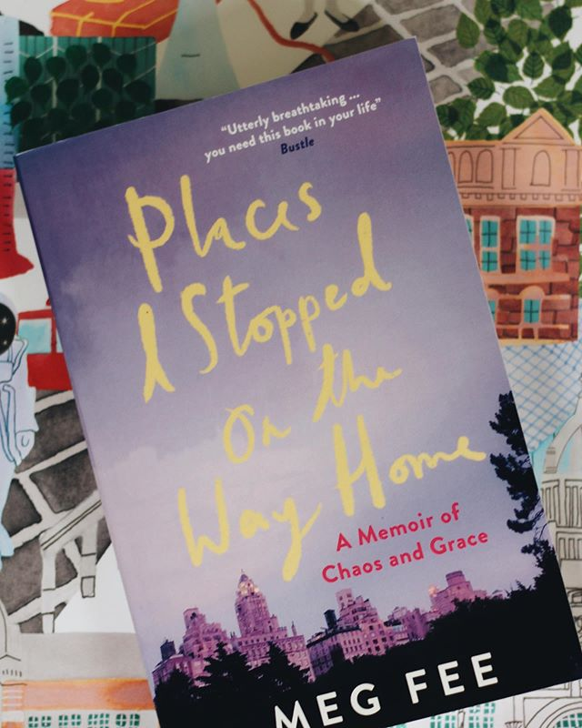 "The paperback of Places I Stopped on the Way Home comes out in paperback today  in the US. Someday I think I'll have the words for the process of publishing one's first book, but that day is not today. The process was at times exhilarating and at times excruciating. @laurajaneauthor told me last year that I'd need to get on with the whole thing and write a second book because with a second book comes perspective - the first just seems to bring a lot of fear and doubt and more than a little sadness. Anne Lamott - of course - said it better than me when she said, ""Publication and temporary creative successes are something you have to recover from. They kill as many people as not. They will hurt, damage and change you in ways you cannot imagine. The most degraded and evil people I've ever known are male writers who've had huge best sellers. And yet...it's also a miracle to get your work published, to get your stories read and heard. Just try to bust yourself gently of the fantasy that publication will heal you, that it will fill the Swiss-cheesy holes inside of you. It can't. It won't. But writing can. So can singing in a choir or a bluegrass band. So can painting community murals or birding or fostering old dogs that no one else will."" So here's to writing - second books, if we're so lucky - and painting and singing and activism and prayer and just living. Living as messily and joyfully as we can."