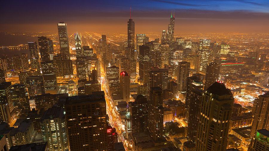 Skyscrapers in Chicago, Illinois, USA