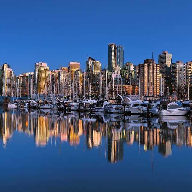 Coal Harbour, Vancouver.