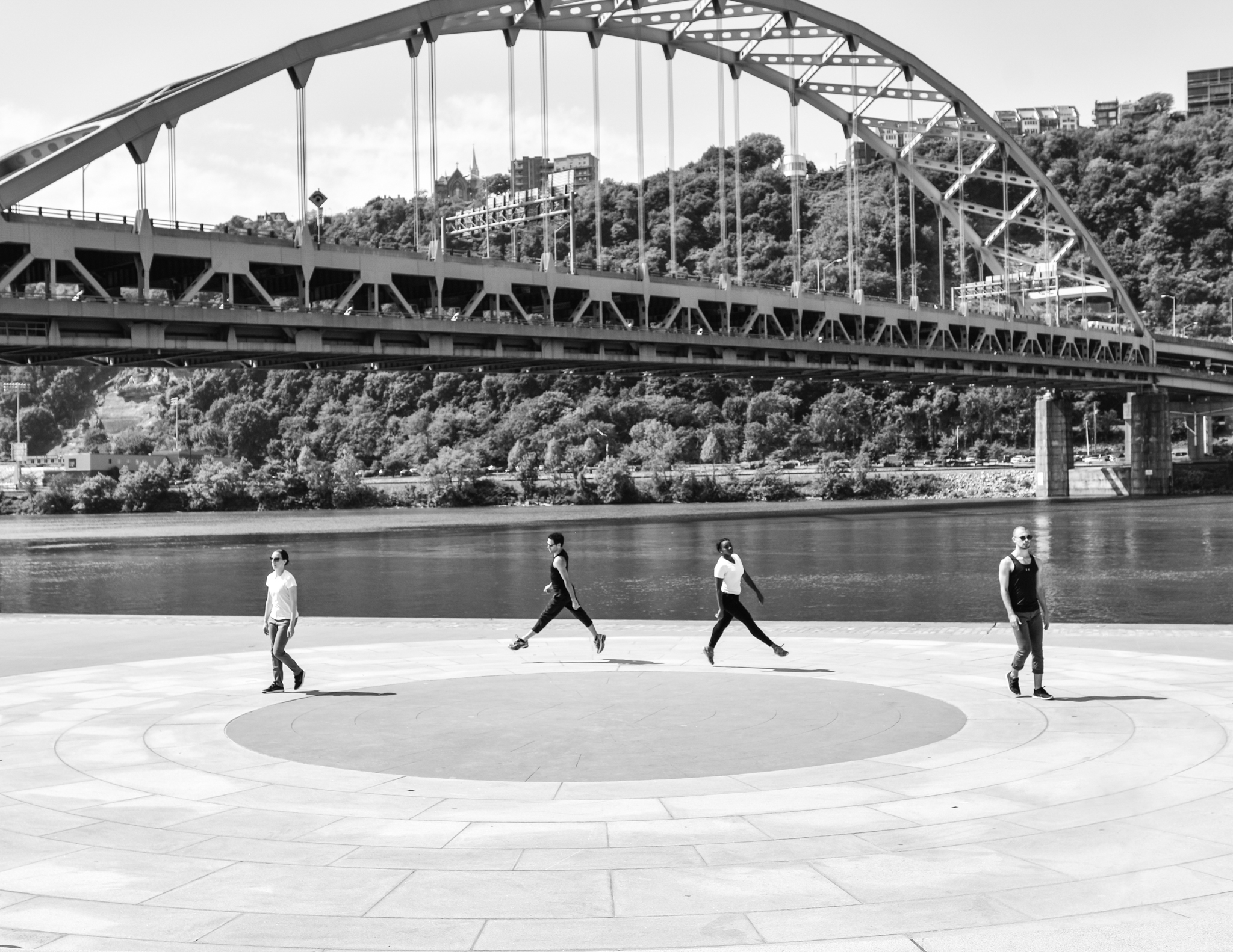 'IT'S TRULY PITTSBURGH' : INCLINE AND BRIDGES ARE BACKDROP FOR THE BLANKET'S FREE DEBUT PERFORMANCES - Read Sarah Bauknecht's preview of Lucinda Childs: The Early Works and learn more about what The Blanket is doing for the dance community.