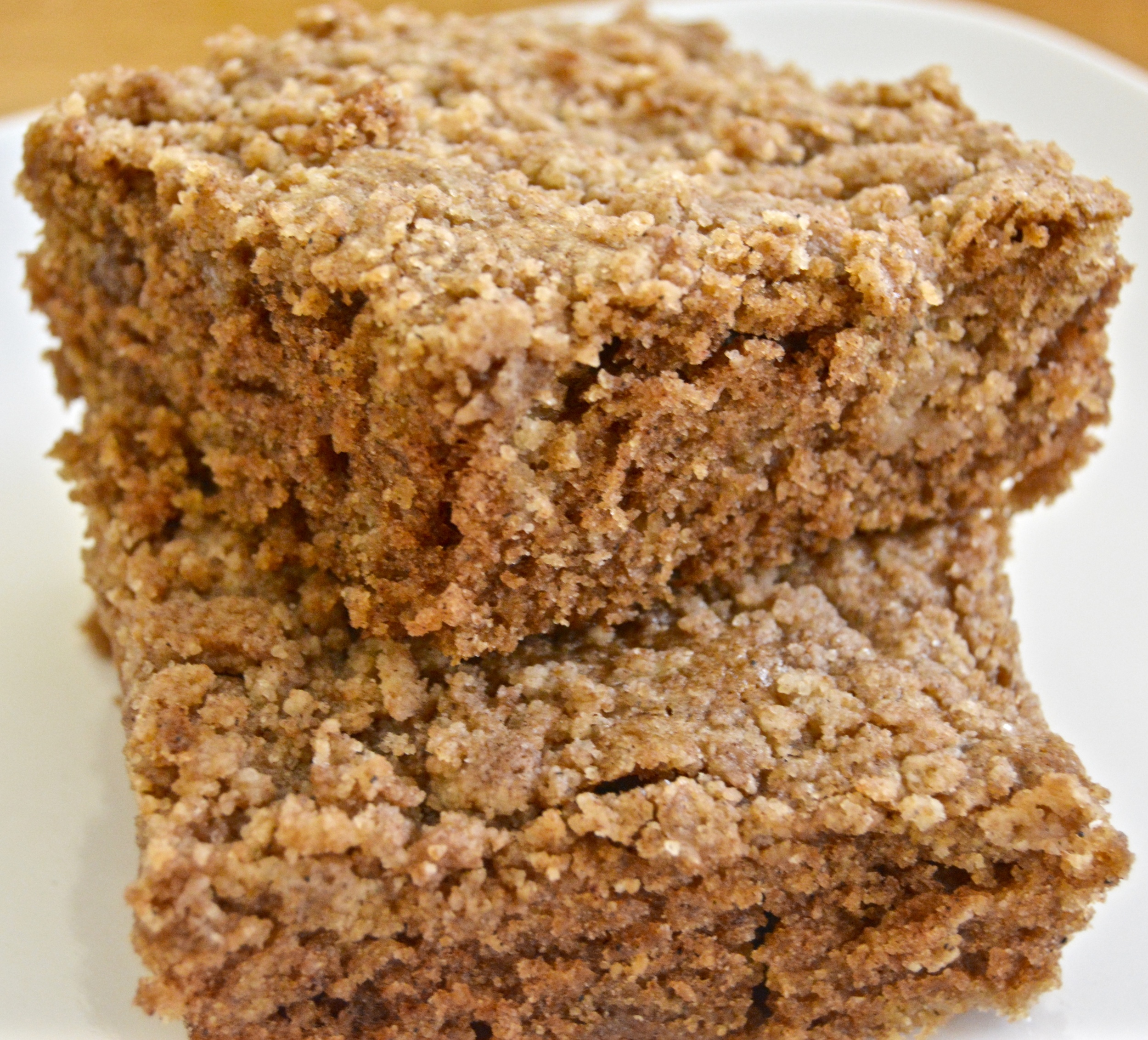 Nutrition Time Coffee Cake