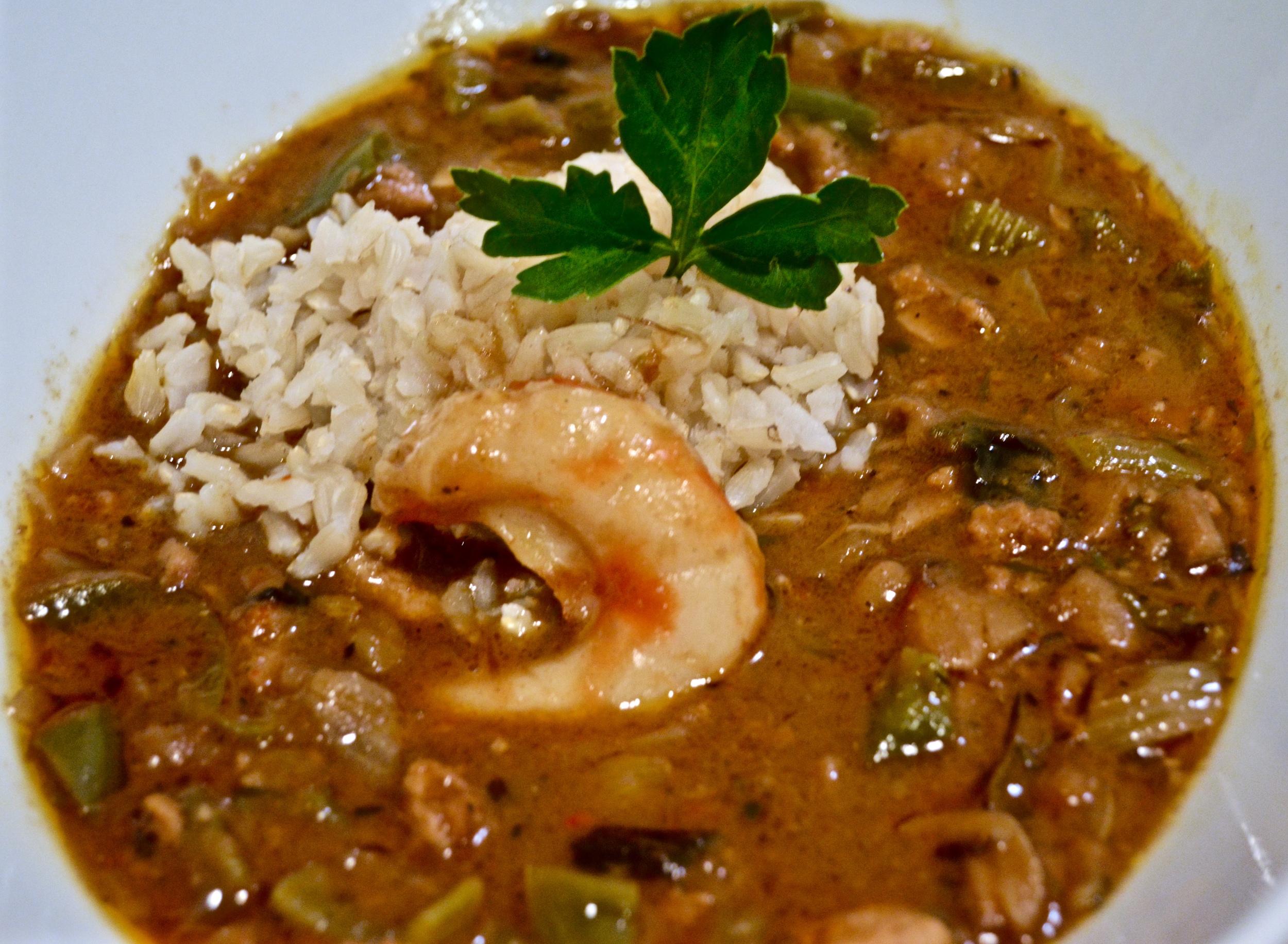 Kemba's 'Seafood' Gumbo