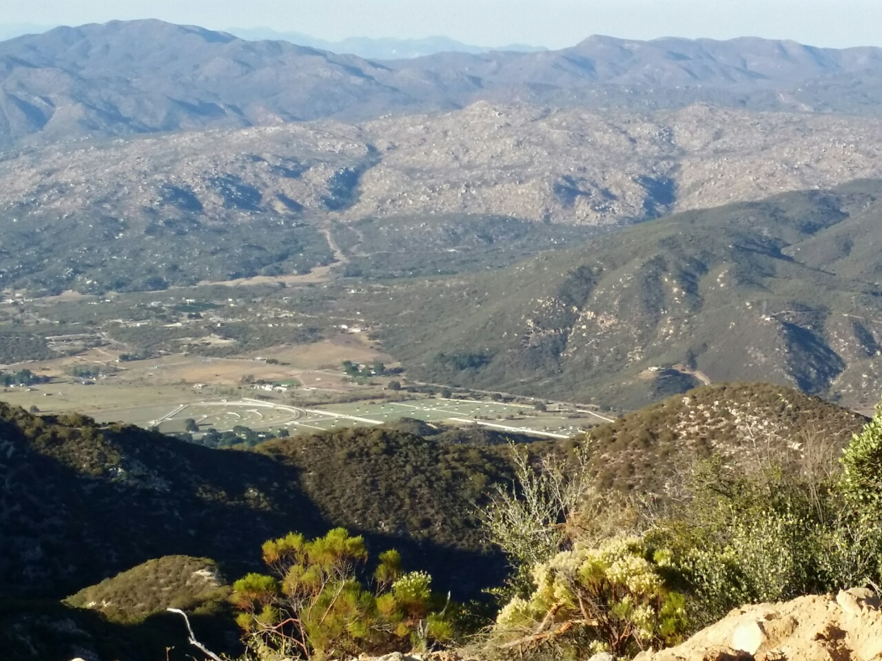 View of the valley from the Mountain Lily Mine.   Click to enlarge.  (Photo: Casey Jones)