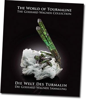 Released at the Tucson show this year, the above volume memorializes Gerhard Wagner's impressive tourmaline collection, which will be  auctioned later this spring. The bilingual book features 379 beautiful color images by photographer Mark Mauthner and is  available in a deluxe and standard edition by BlueCap Productions.