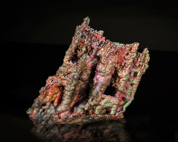 Goethite   from Alosno-Tharsis Road, Huelva, Andalusia, Spain, 8.5 x 9.5 x 5 cm.   Price available upon request. (Photo: Mia Dixon)