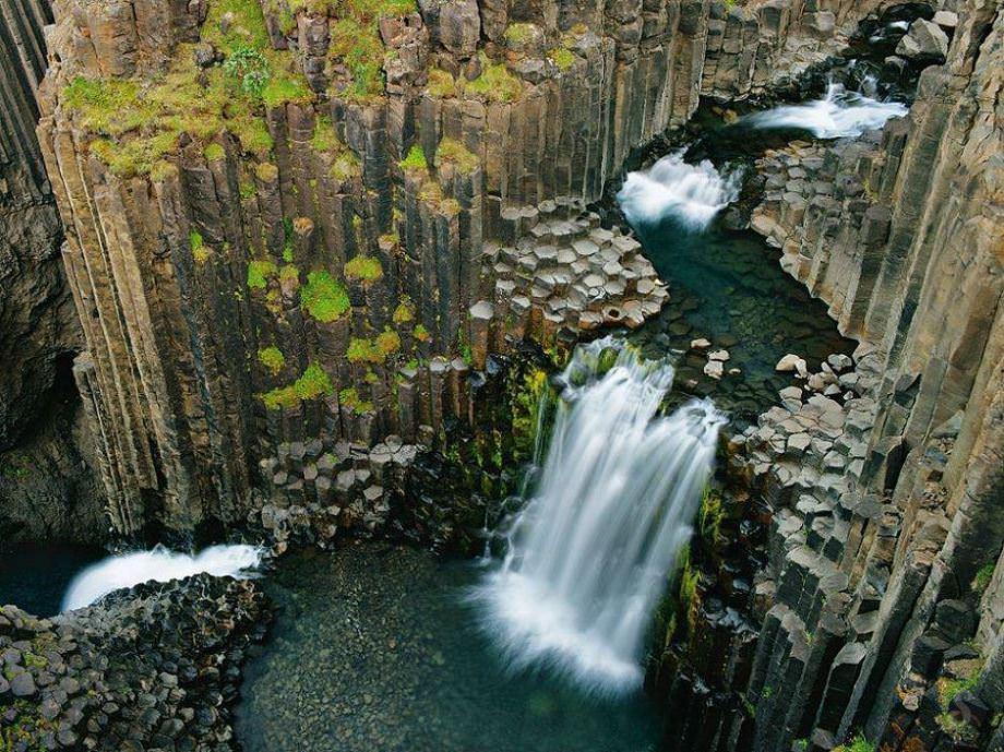 Litlanesfoss Falls, Iceland
