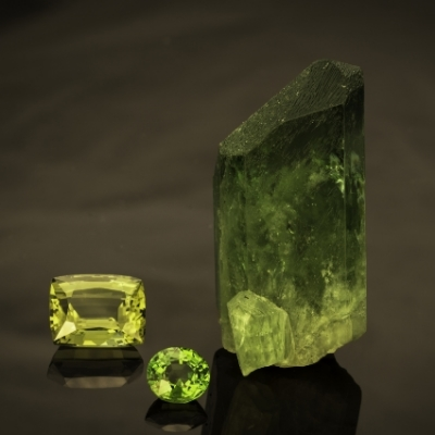 Rough & Cut Diopside