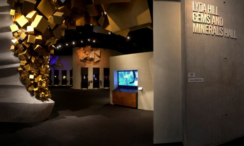 Lyda Hill Gems and Mineral Hall of the Perot Museum of Nature and Science