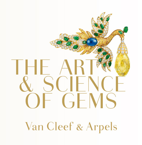The peacock-like brooch displayed in the show's logo transforms to winged earrings and brooch or 96.62-carat diamond pendant. It was crafted in 1971–1972 from gold, emerald, sapphire, white and yellow diamonds. The 96.62-carat briolette-cut yellow diamond dangling from the avian's aperture formerly was owned in the 1930s by Polish opera singer Ganna Walska, who couldn't sing, inspiring Orson Welles to create the character of Susan Alexander in  Citizen Kane . Interestingly, Walska owned an estate in Montecito, California that she named Lotusland. (Photo: Patrick Gries © Van Cleef & Arpels)