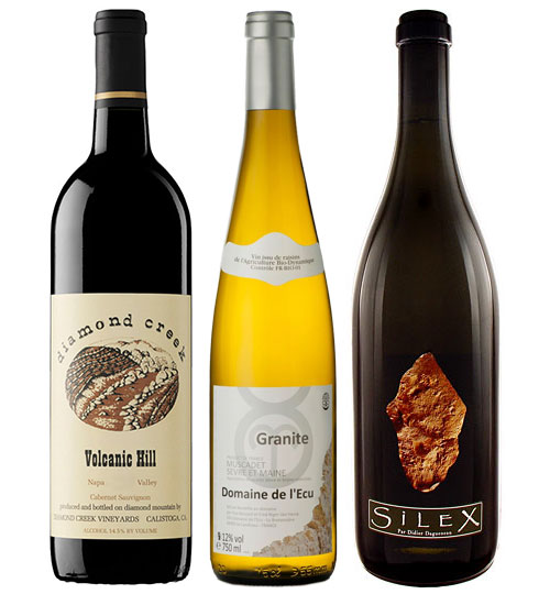 The vintners are playing up a key element of terroir, wearing their soils on their sleeves.