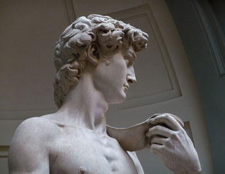 "MICHELANGELO'S MARBLE  Italy's ""white gold""    READ MORE »"