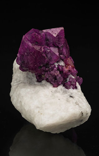 FEATURED SPECIMEN  Will Heierman Corundum    READ MORE »