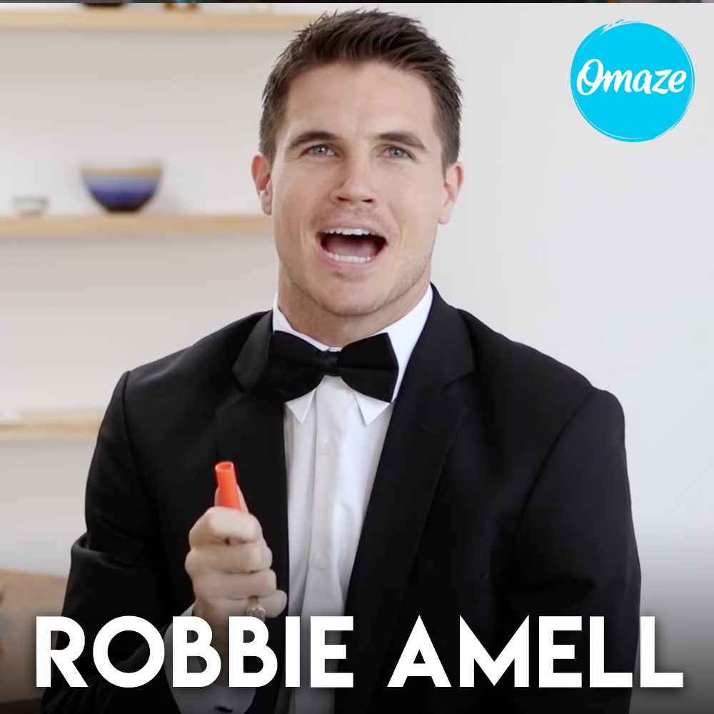 Robbie Amell for Omaze