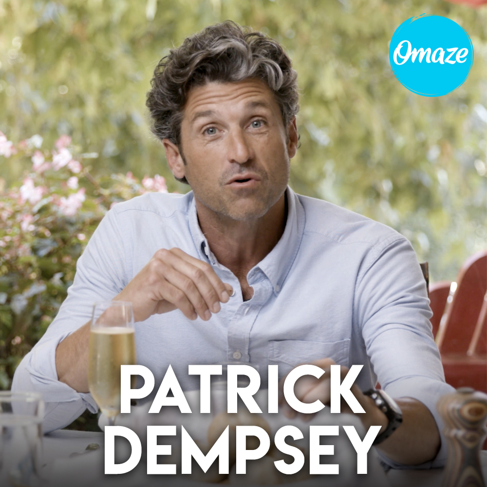 Patrick Dempsey for Omaze