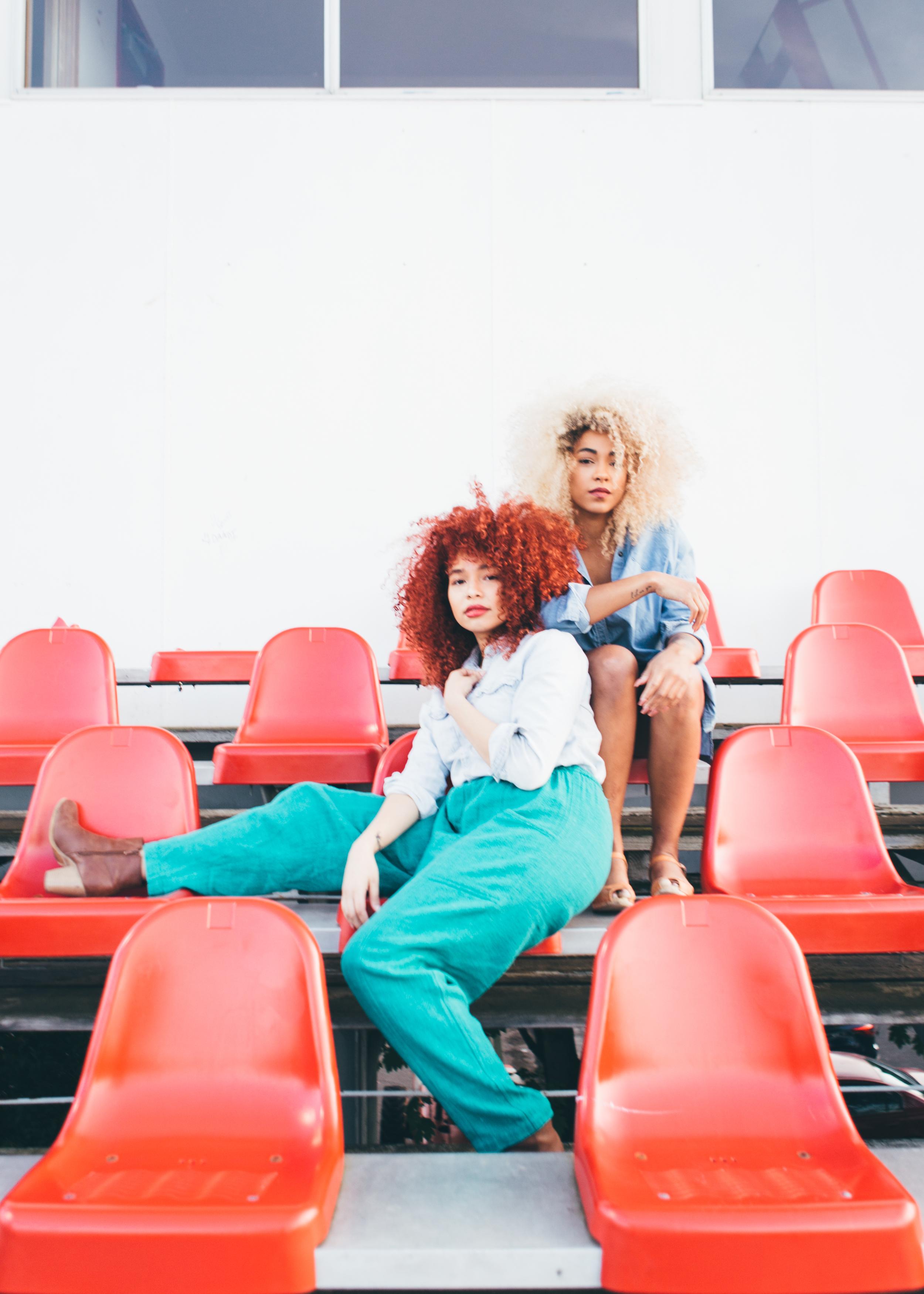 Model(s): Kassala Holdsclaw. & Erika. Photographer: Candace Molatore.