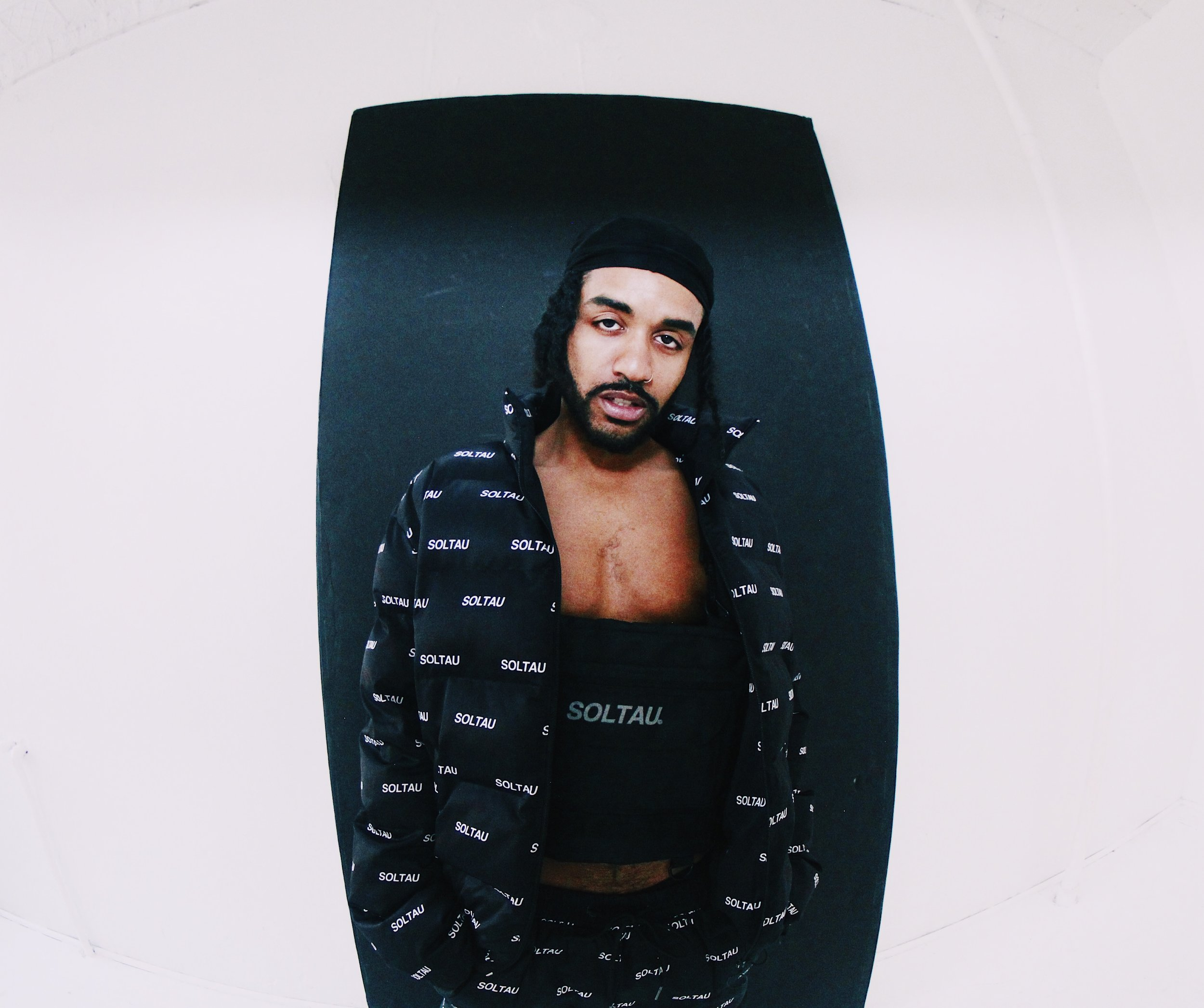 Ye Ali , wearing  SOLTAU , photographed by  Chioma Nwana .