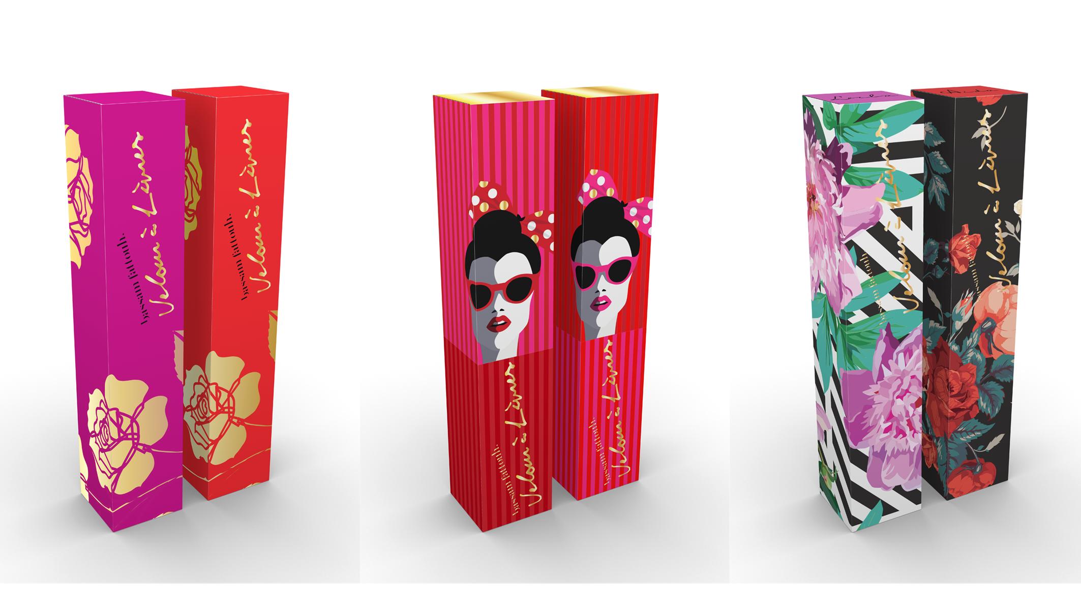 Bassam Fattouh Lip gloss (Beirut, Rana Salam Design Studio, 2016)