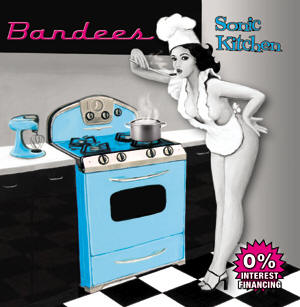 "Sonic Kitchen is an amazing album from Stephen and Patricia Dees and their band the ""Bandees."""