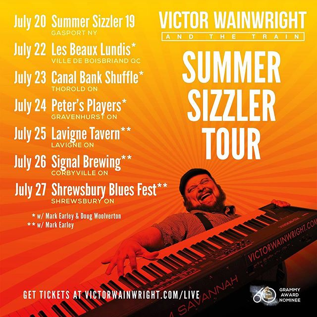 2019 #SummerSizzler Tour Upcoming! #MemphisLoud #TheTrain2019