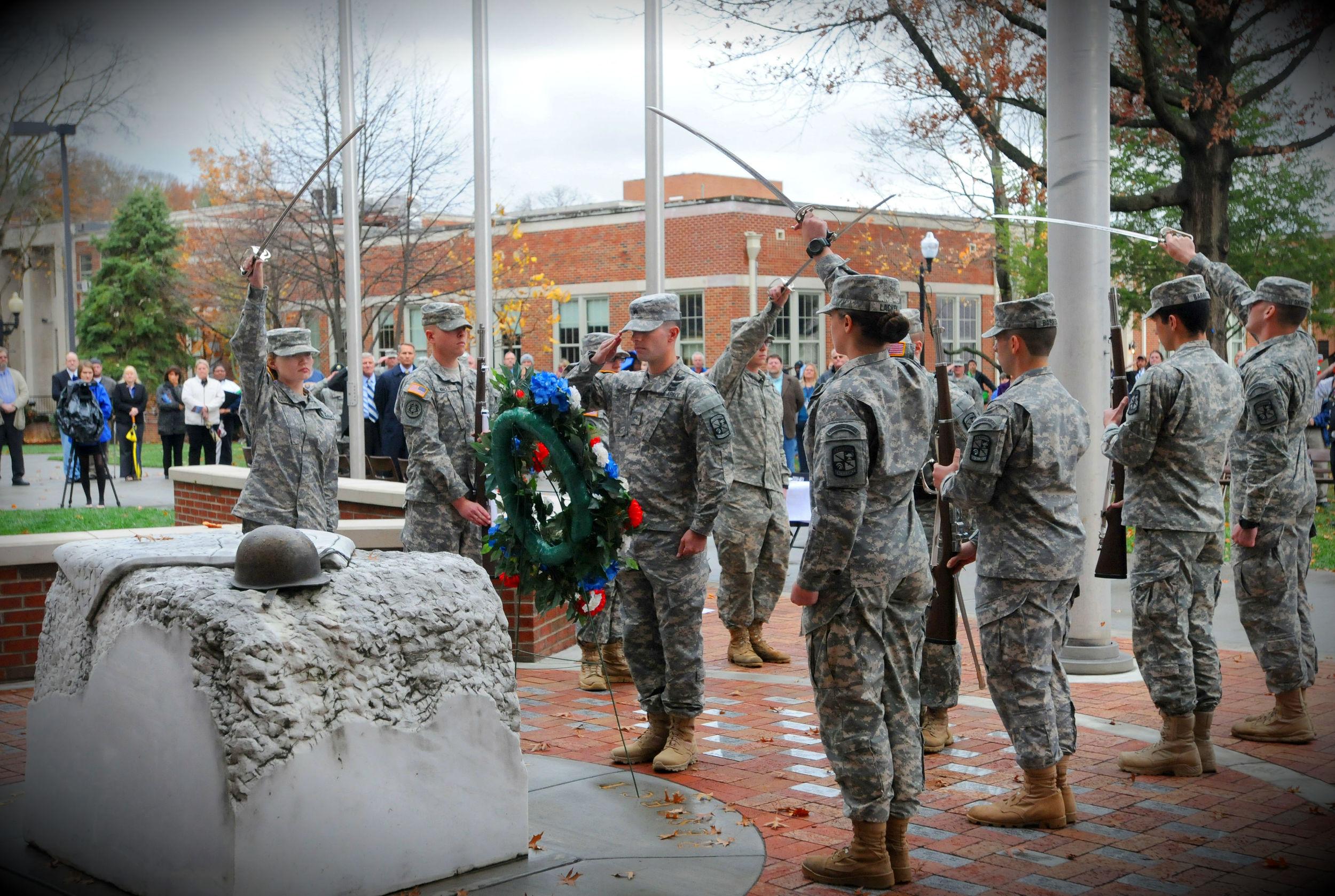 ETSU Veterans Memorial Dedication Ceremony