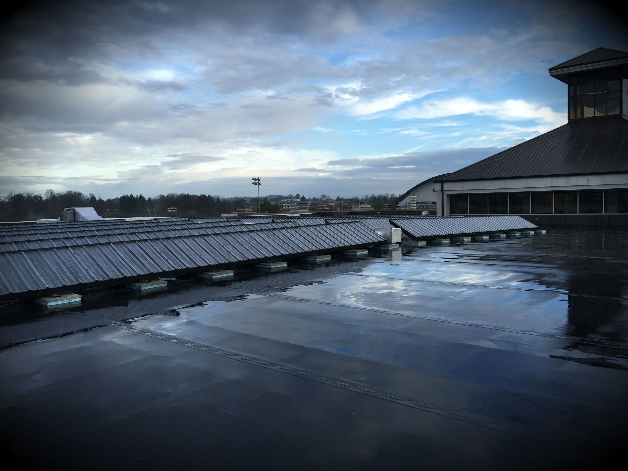 ETSU Center for Physical Activity Solar Wall