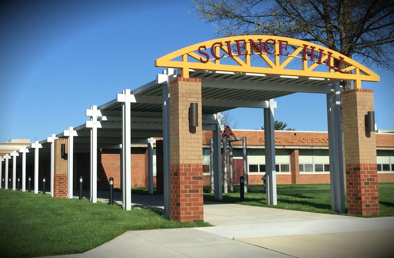 Science Hill High School Walkway Canopies